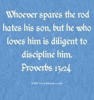 proverbs 13 24