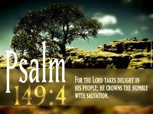 psalm 149 4